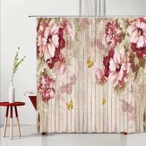 Other - Flowers Shower Curtain